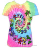 Grateful Dead - Spiral Bears Baby Doll Shirt