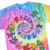 Grateful Dead - Spiral Bears Tie Dye T Shirt