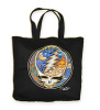 Grateful Dead - Sun Moon Steal Your Face Canvas Tote Bag