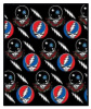 Grateful Dead - SYF Space Your Face Fleece Blanket