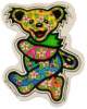 Grateful Dead - Dan Morris Tropical Bear Sticker